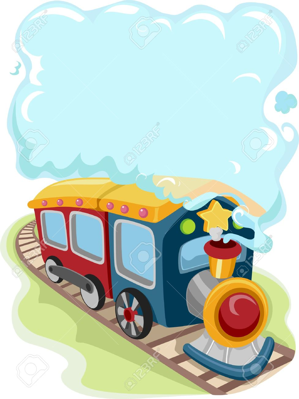 977x1300 Railways Clipart Train Smoke