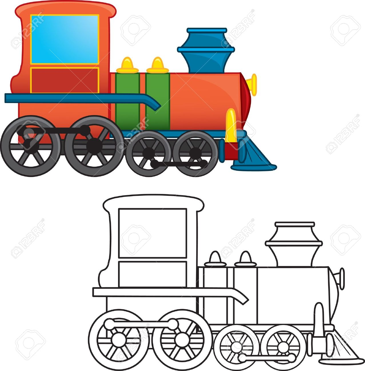 1277x1300 Tern Clipart Steam Train