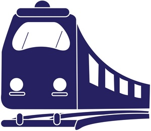 300x261 Train Clipart Logo