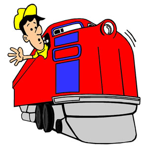 300x300 Train Clipart Train Driver