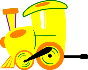 298x237 Train Clipart Yellow