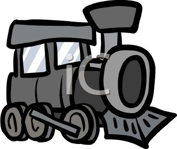 350x295 Gray Clipart Train