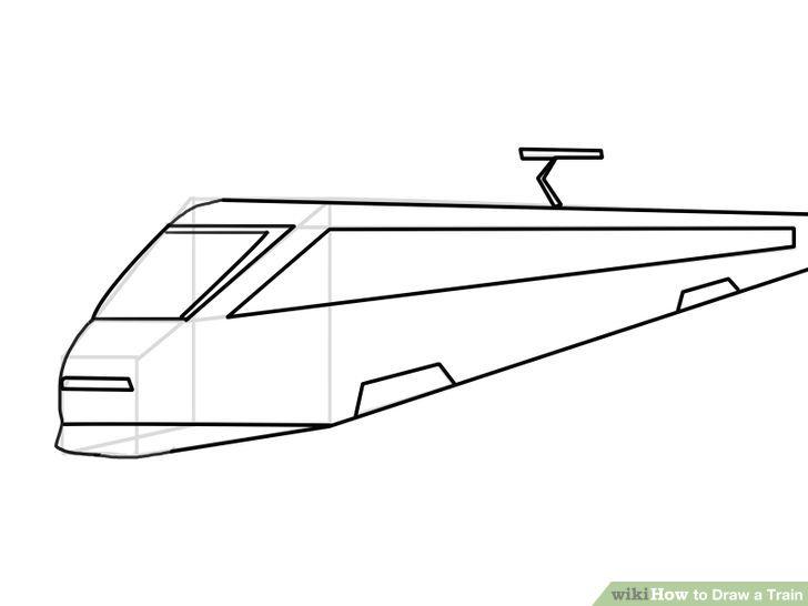 728x546 How To Draw A Train Artprise.ru The Art Living, The Art
