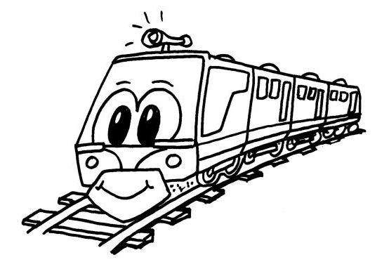 554x383 Means Of Rail Transport Clipart