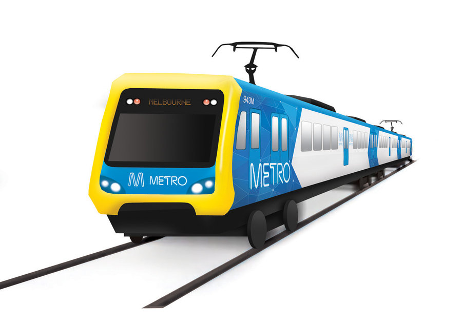900x634 Melbourne Trains X'Trapolis By Timmotheus