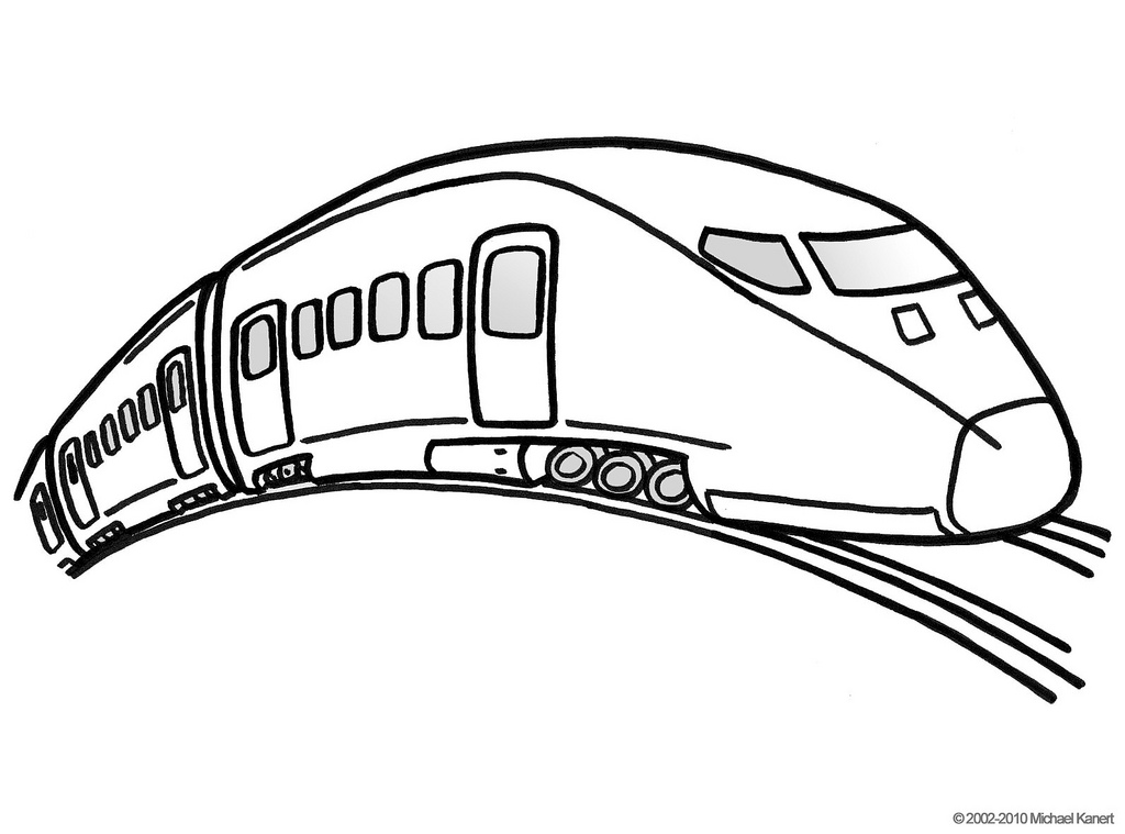 1024x759 Pictures Bullet Train Sketch Pic,