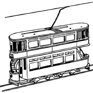 300x300 Train Engine Coloring Page Color Luna