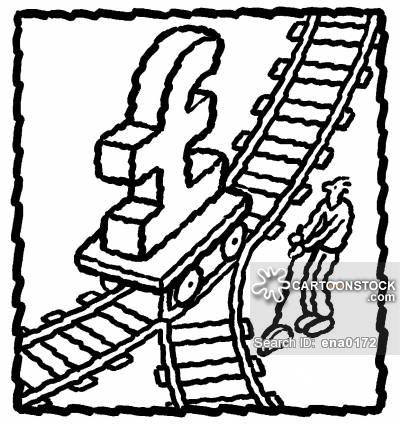 400x425 Train Tracks Cartoons And Comics