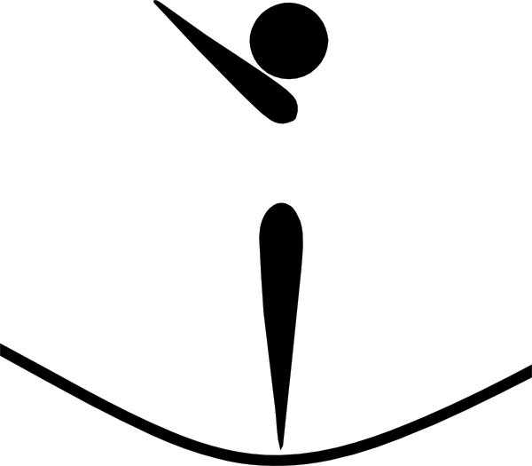 600x525 Olympic Trampoline Logo Clip Art