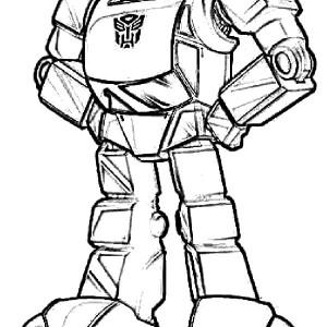300x300 Bumblebee Car Transformer Amazing Bazooka Coloring Pages Best