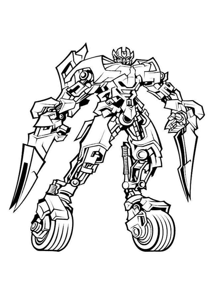Transformers Coloring Pages | Free download on ClipArtMag