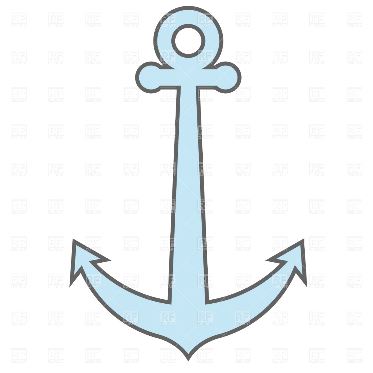 1200x1200 Anchor Transparent Background Clipart
