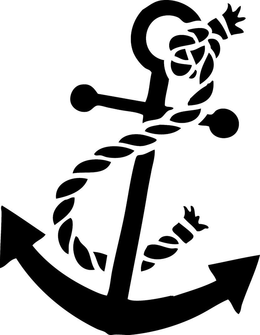 830x1067 Anchor Clipart