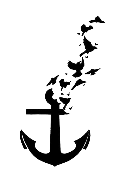 483x720 Download Anchor Tattoos Transparent Hq Png Image Freepngimg