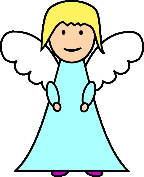 486x600 Angel Clip Art