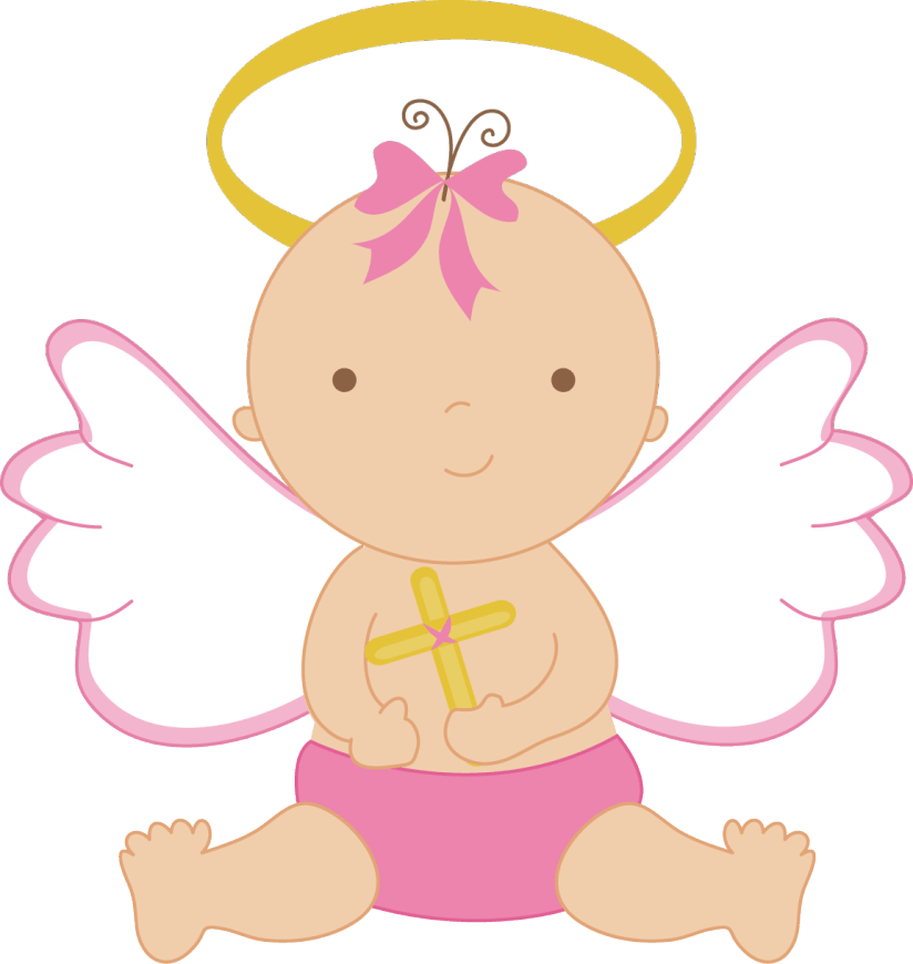 824x870 Pink Angel Cliparts
