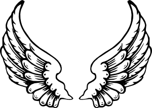 300x214 Angel Wings Clip Art