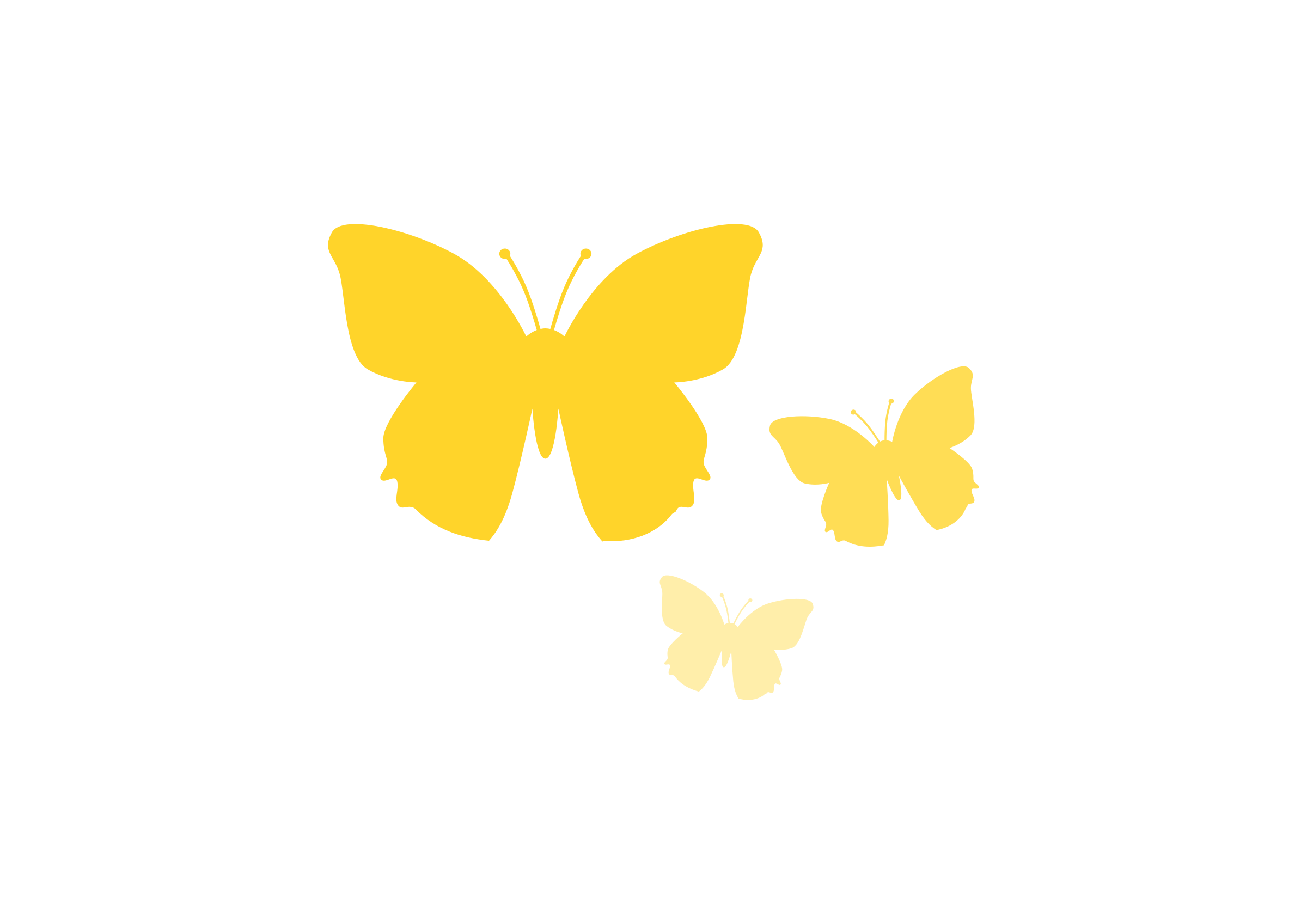 2400x1697 Gallery Clipart Yellow Butterfly