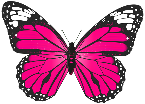 600x428 Pink Butterfly Png Transparent Clip Art Image