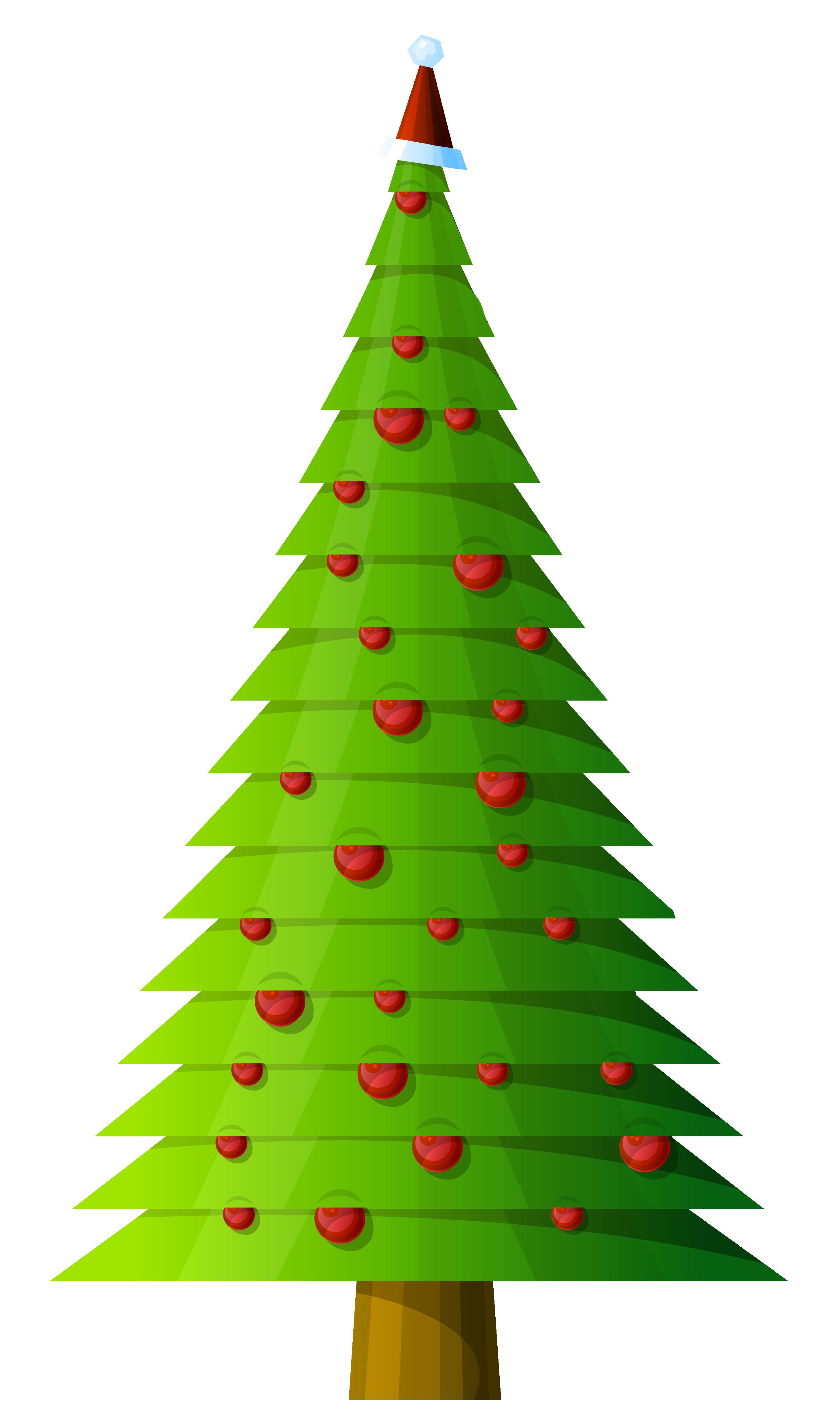 2915x4917 Christmas Tree Clipart Transparent
