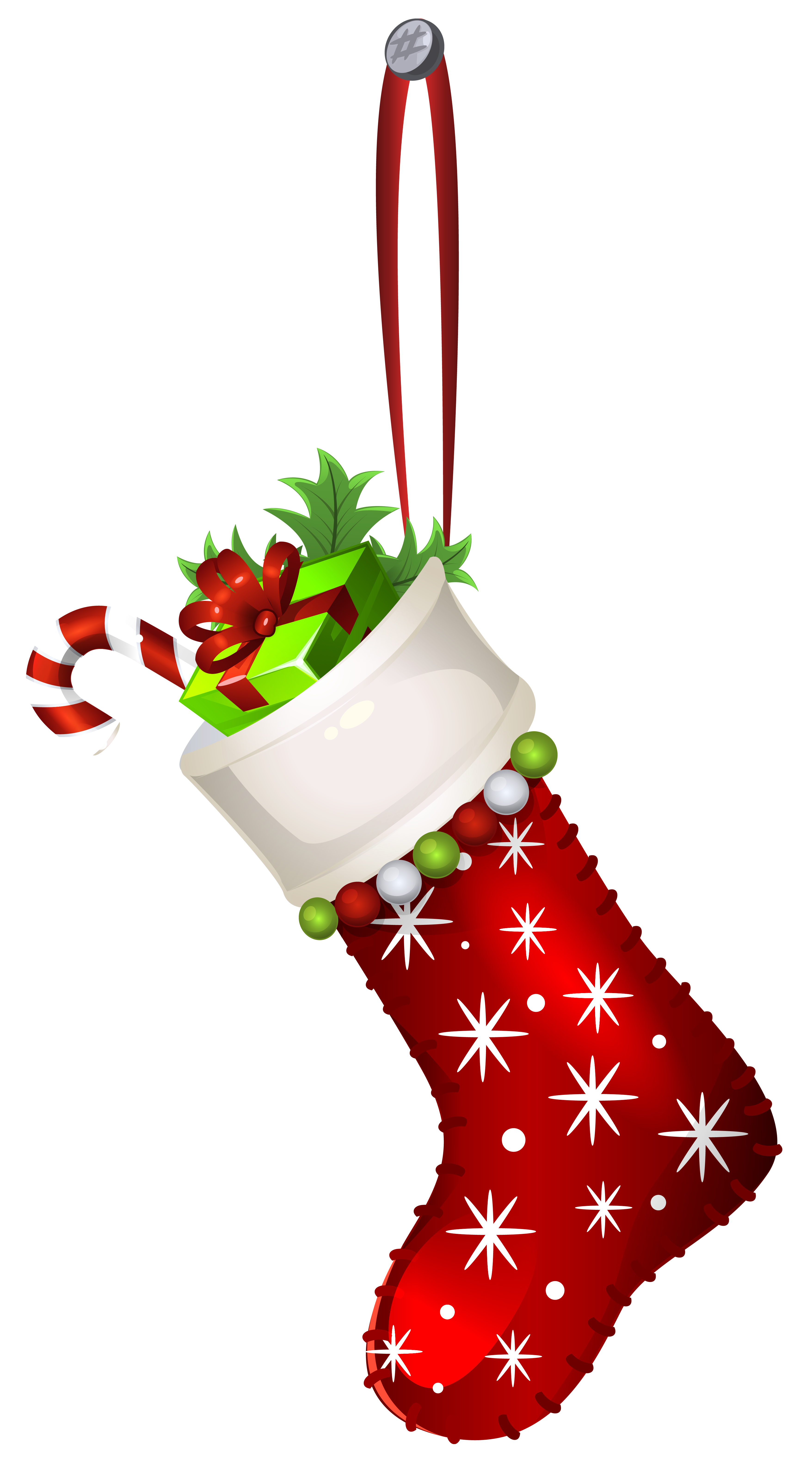 3512x6356 Red Christmas Stocking Transparent PNG Clip Art Imageu200b Gallery