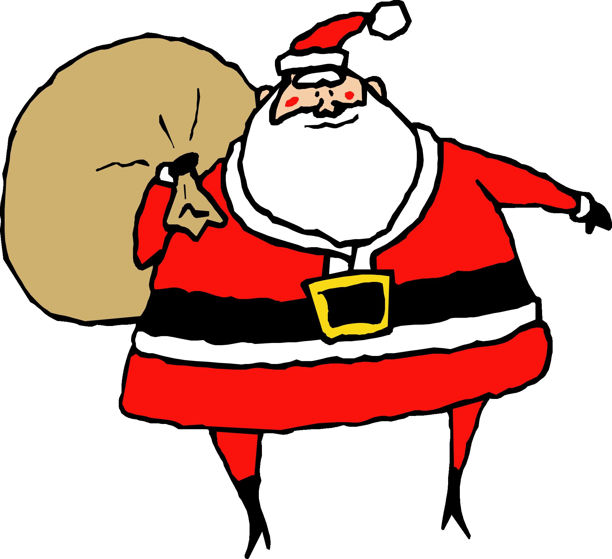 1979x1809 Transparent Santa Clipart 0
