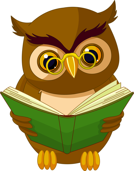 471x600 Transparent Owl With Book Png Clipart Picture Cards And Frames