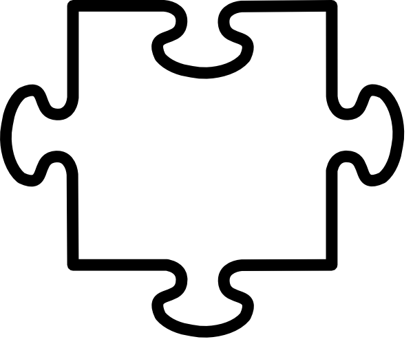 600x503 Transparent Jigsaw Clip Art