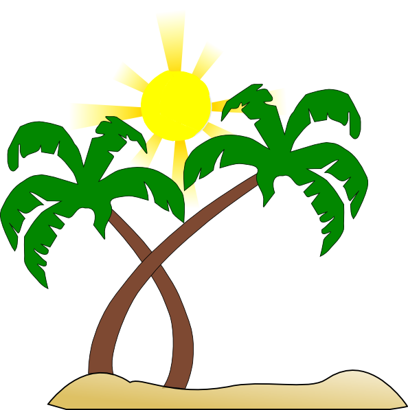 594x597 Beach Clipart Transparent