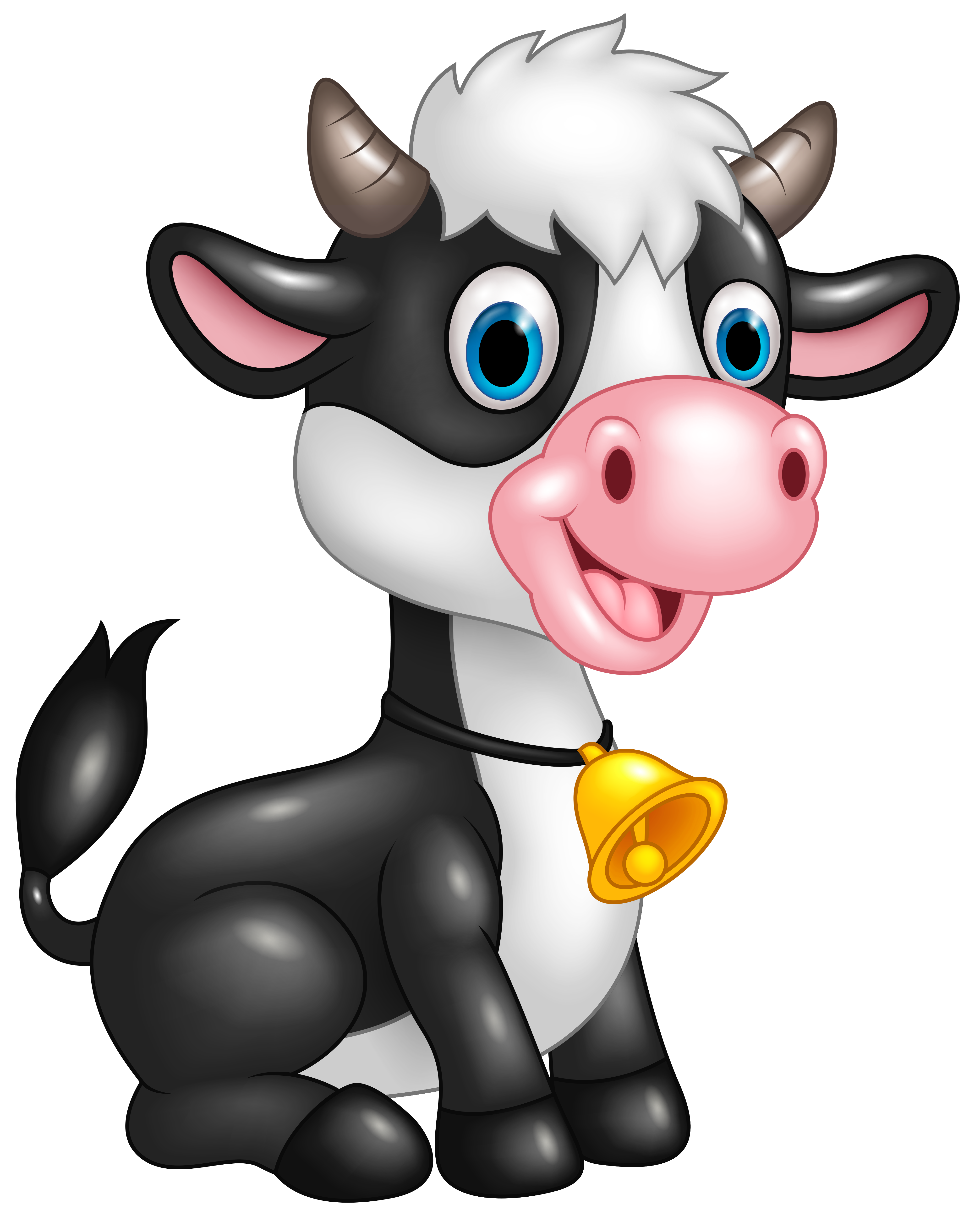 4099x5108 Cow Clipart Png