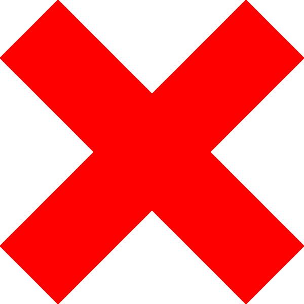 600x600 Red Cross Clip Art