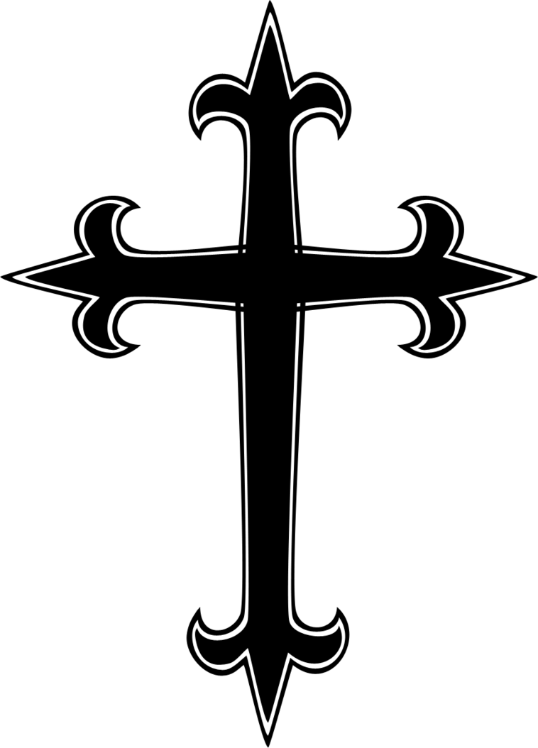758x1054 Transparent Cross Clipart