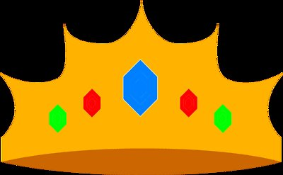 400x247 Awesome Crown Clipart With Transparent Background