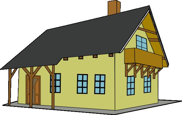 600x381 House Clip Art Free Vector 4vector