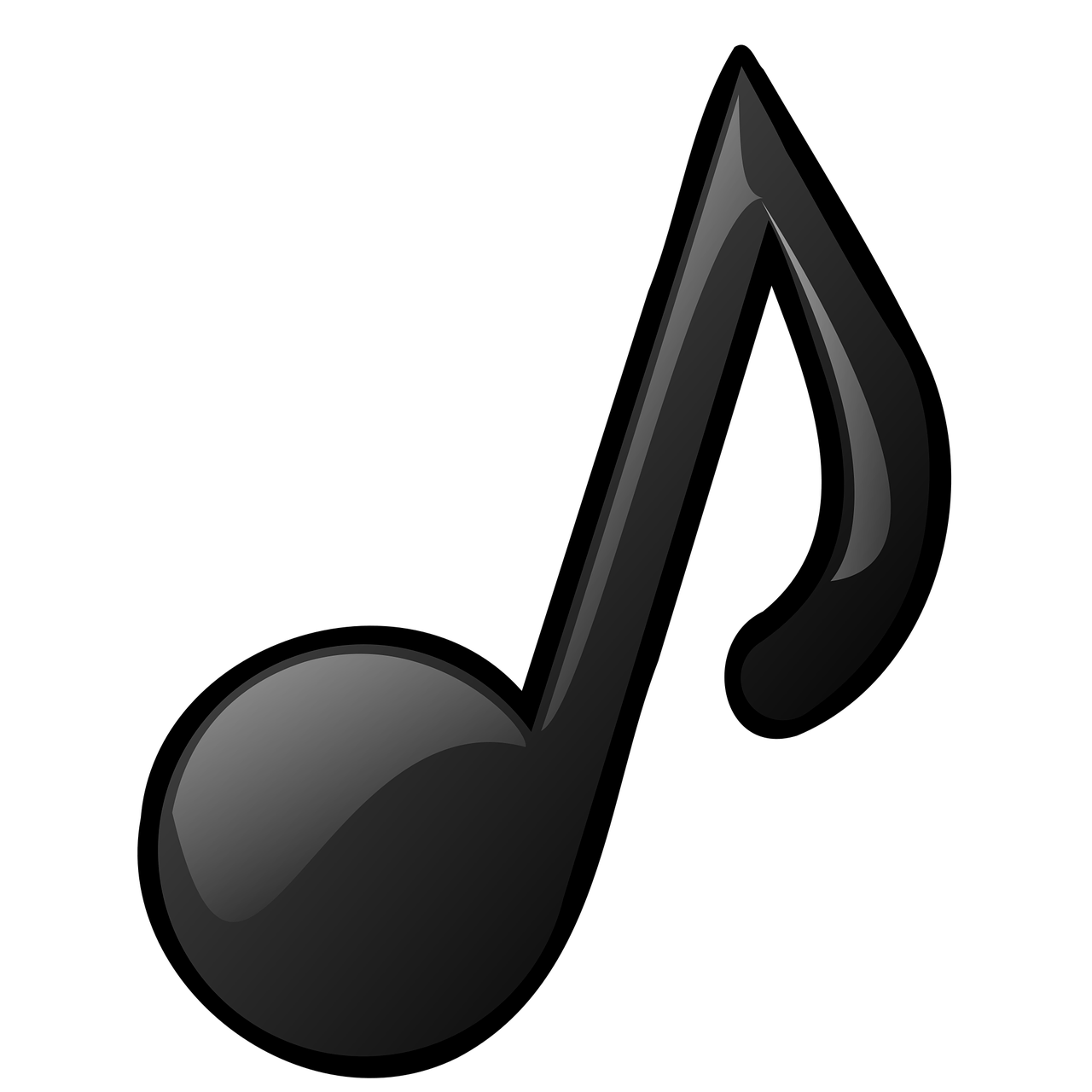 Transparent Musical Notes   Free download on ClipArtMag