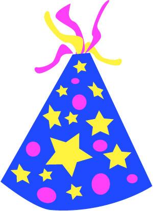 300x413 Free Birthday Hat Clipart Image