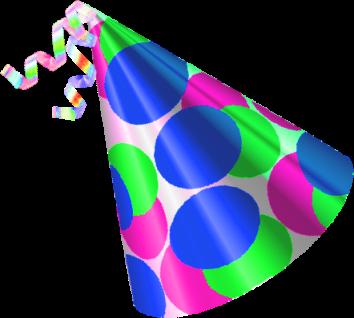 354x318 Birthday Hat Clipart