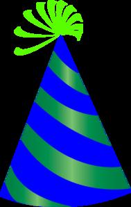 189x298 Party Hat Clip Art