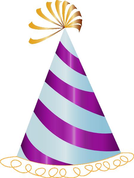 450x594 Purple Party Hat Clip Art