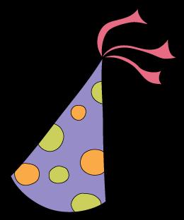 260x312 Purple Clipart Party Hat