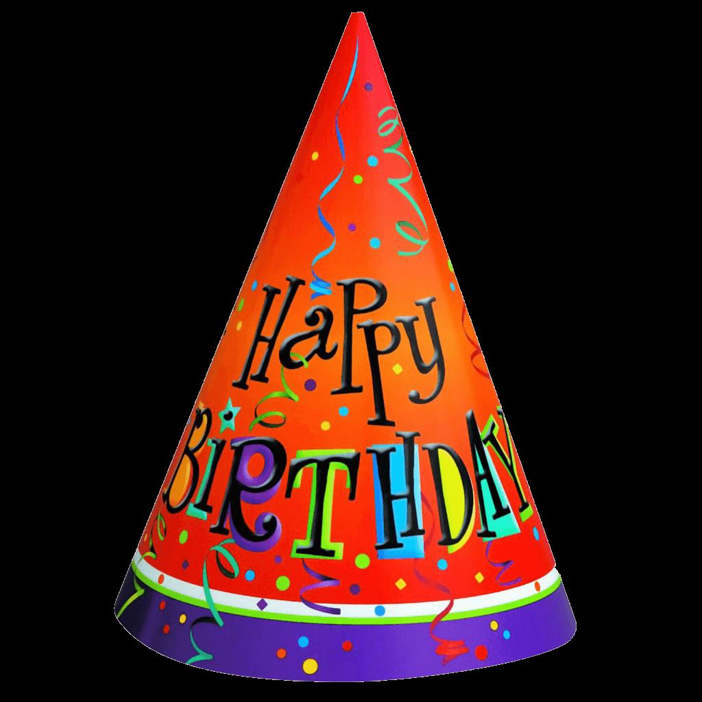 1024x1024 Birthday Hat Transparent Png