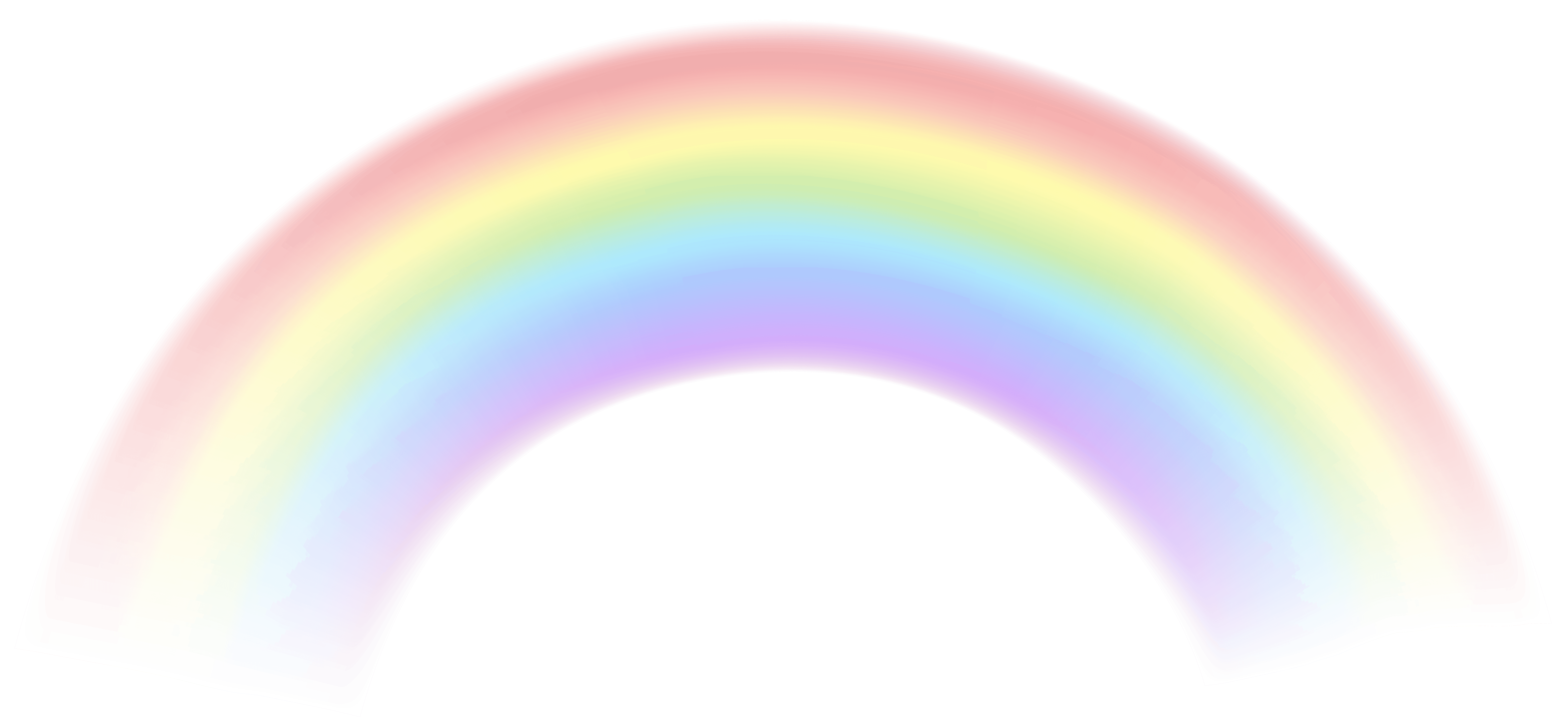 Transparent Rainbow | Free download on ClipArtMag