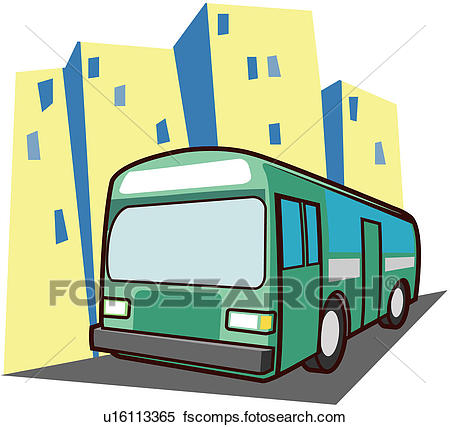 450x427 Clipart Of Urban Scene, Traffic, Transportation, Car, Building
