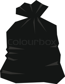 248x320 Garbage Bag Icon. Outline Illustration Of Garbage Bag Vector Icon