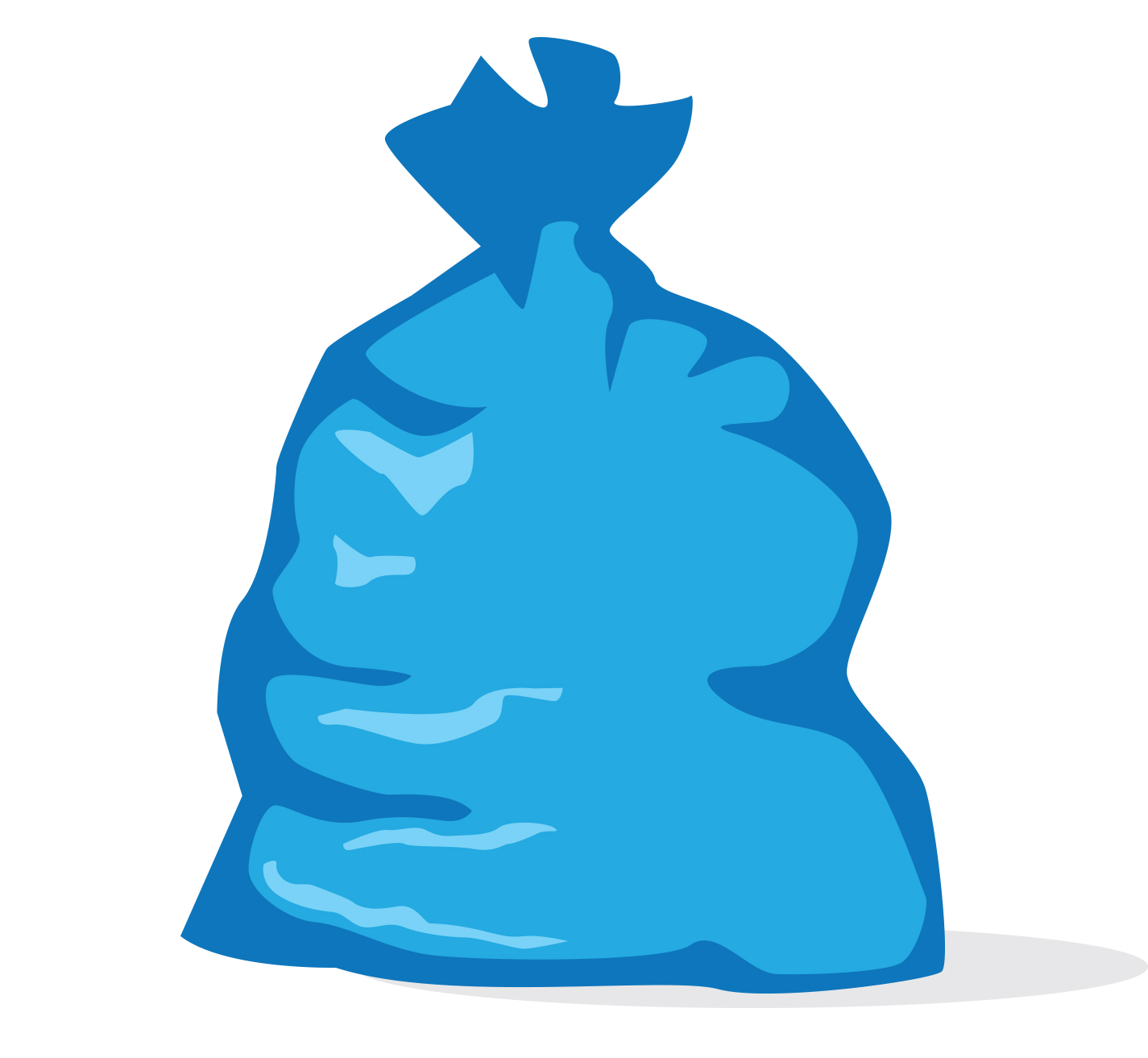 This is a picture of Superb Trash Bag Drawing
