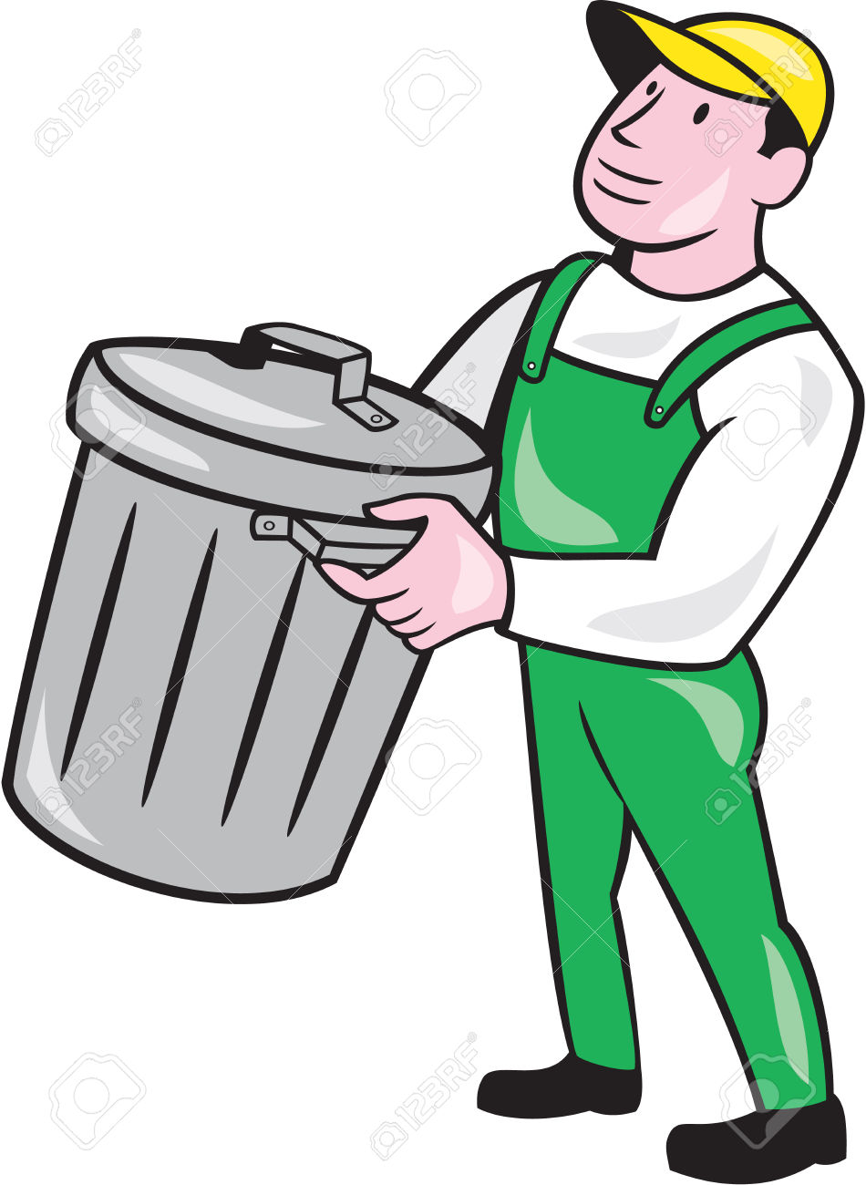 Trash Collector Clipart | Free download best Trash ...  Trash Collector...
