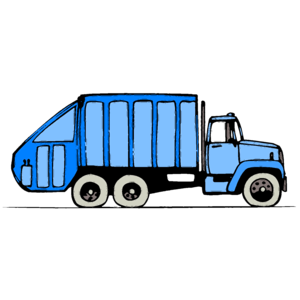300x300 Garbage Truck Png Clipart
