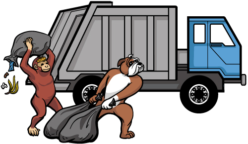 500x292 How To Draw A Garbage Truck