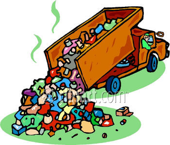 350x299 Trash Clipart Landfill Site