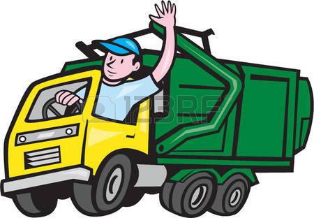 450x312 Trash Clipart Waste Truck
